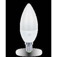 Лампа светодиодная LED-СВЕЧА-standard 3.5Вт 160-260В Е14 3000К 320Лм ASD