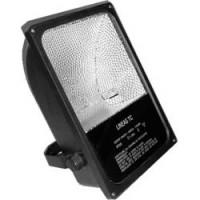 Металлогалогенный прожектор Feron SP03 на скобе с пускателем 70W R7S 230V, черный