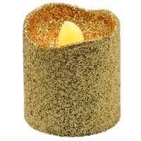 Набор декоративных свечей Feron FL079 c янтарной LED подсветкой, 6 шт