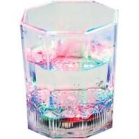 Стакан светодиодный декоративный Feron FL105 Гранёный, RGB подстветкой