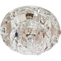 Светильник встраиваемый Feron 1580 потолочный JC G4 прозрачный