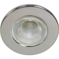 Светильник встраиваемый Feron 1713 потолочный R50 E14 хром