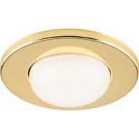 Светильник встраиваемый Feron 1713 потолочный R50 E14 золотистый