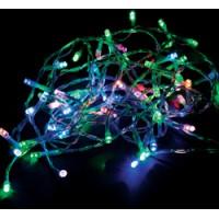 Светодиодная гирлянда Feron CL301 линейная разноцветная с питанием от батареек