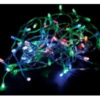 Светодиодная гирлянда Feron CL302 линейная разноцветная с питанием от батареек