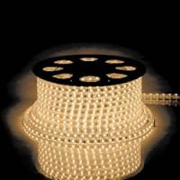 Cветодиодная LED лента Feron LS707, 30SMD(5050)/м 7.2Вт/м  50м IP68 220V теплый белый