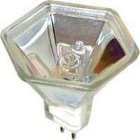 "Лампа галогенная, 20W 12V MR16/G5.3 ""с синим фильтром"", HB4"