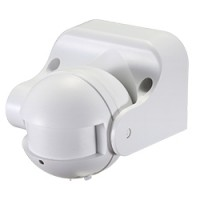 Микроволновый датчик движения 5.8GHz 230V 1200W 8m 180/360°  белый, SEN42