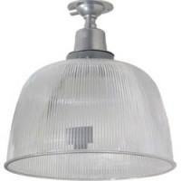 """Прожектор Feron HL31 (12"""") купольный 60W E27 230V, серый"""
