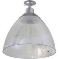 """Прожектор Feron HL31 (16"""") купольный 60W E27 230V, серый"""