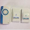Звонок дверной беспроводной Feron E-371 Электрический 32 мелодии белый синий с питанием от батареек