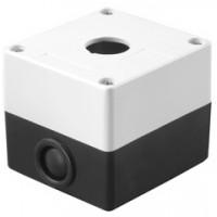 Корпус КП101 для кнопок 1место белый TDM