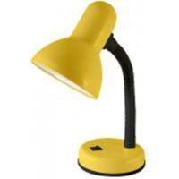 Светильник настольный на основании 60Вт, E27 желтый (мягкая упак.) TDM