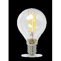 Лампа светодиодная LED-ШАР-PREMIUM 5Вт 160-260В Е14 3000К 450Лм прозрачная ASD