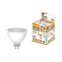 Лампа светодиодная MR16-7 Вт-230 В-4000 К–GU5,3 Народная