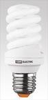 Лампа энергосберегающая КЛЛ-FS-25 Вт-4000 К–Е27 (60х141 мм) TDM