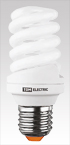 Лампа энергосберегающая КЛЛ-FS-30 Вт-4000 К–Е27 (60х161 мм) TDM