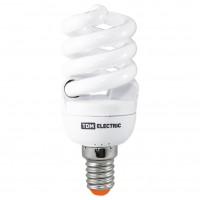 Лампа энергосберегающая КЛЛ-FS-20 Вт-2700 К–Е27 TDM