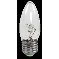 Лампа накаливания СВЕЧА B35 40Вт 220В Е14 прозрачная ASD