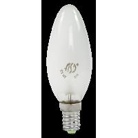 Лампа накаливания СВЕЧА B35 60Вт 220В Е14 матовая ASD