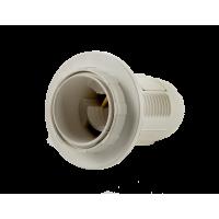 Патрон Е14-ППК пластиковый с прижимным кольцом