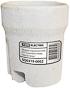 Патрон керамический E27 (контакты медь) TDM