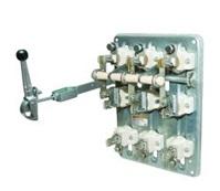 Рубильник РПС-1/1Л У3 TDM (100А,  левый привод, без плавких вставок)