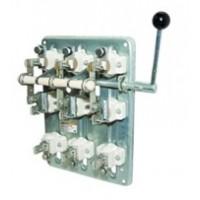 Рубильник РПБ-4/1Л У3 TDM (400А,  левый привод, без плавких вставок)