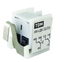 Блок аварийного и дополнительного контактов АК+ДК-125/160 (АК+ДК-32/33) TDM