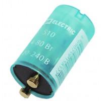 Стартер S10 4-80Вт 220-240В мед. контакты TDM