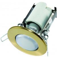 Светильник встраиваемый СВ 01-03 R50 60Вт Е14 золото TDM