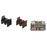 Доп. контакт для светосигн. арм. c мет. основанием 1р TDM
