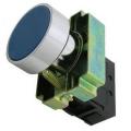 Кнопка BА61 без подсветки синий 1з TDM