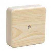 Коробка распаячная КР 50х50х20 ОП сосна IP40, инд. штрихкод TDM