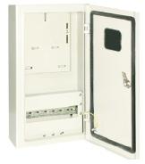 Корпус металлический ЩУ-3ф/1-0-12 IP66 (ЩУРН-3/12 IP66) (540х310х165) TDM