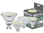 Лампа светодиодная PAR16-5 Вт-220 В -3000 К–GU 10 SMD TDM