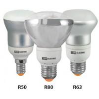 Лампа энергосберегающая КЛЛ- RM50 FR-9 Вт-2700 К–Е14 TDM