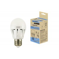 Лампа Народная светодиодная НЛ-LED-A60 7 Вт-6000 К-Е27 (60х105)