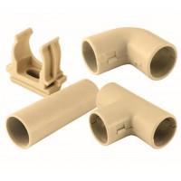 Муфта соед. для трубы 16 мм (10шт)