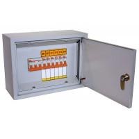Осветительный щиток с выключателем ОЩВ-9 (63А/16А) 220х300х120мм TDM