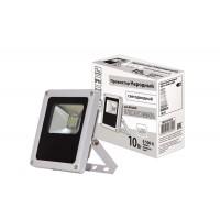 Прожектор светодиодный СДО10-2-Н 10 Вт, 6500 К, серый