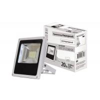 Прожектор светодиодный СДО20-2-Н 20 Вт, 6500 К, серый