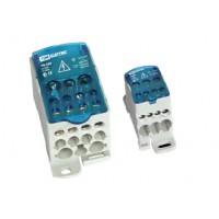 Распределительный блок на DIN-рейку РБ-125 1П 125А (1х35+1x16/6x16) TDM