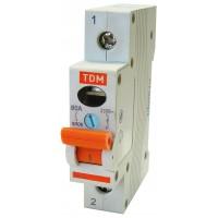 Выключатель нагрузки (мини-рубильник) ВН-32 1P 50A TDM