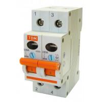 Выключатель нагрузки (мини-рубильник) ВН-32 2P 16A TDM