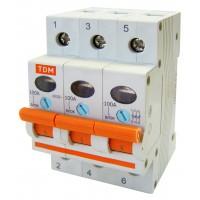 Выключатель нагрузки (мини-рубильник) ВН-32 3P 80A TDM