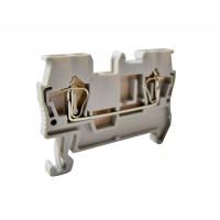 Зажим клеммный безвинтовой (ЗКБ) 2,5 мм2 31А серый TDM