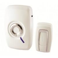 Звонок беспроводной на батарейках ЗББ-11/1-36М (36 мелодий, кнопка IP30, 3х1,5В АА) TDM