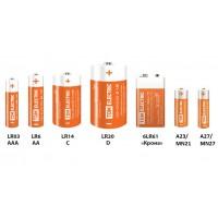 Элемент питания LR6 AA Alkaline 1,5V SR-4 TDM