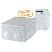 Коробка распаячная КР 75х75х20 ОП белая, IP40, инд. штрихкод TDM